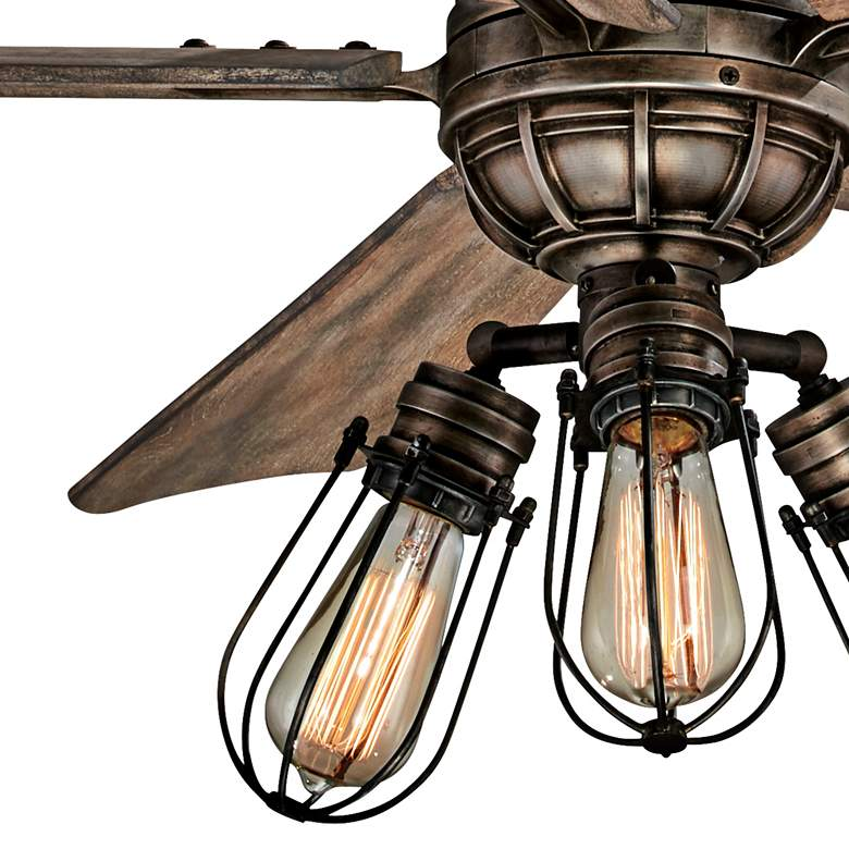 "56"" Minka Aire Alva Heirloom Bronze LED Ceiling Fan more views"