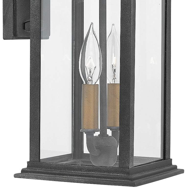 "Hinkley Adair 20"" High Aged Zinc Outdoor Wall Light more views"
