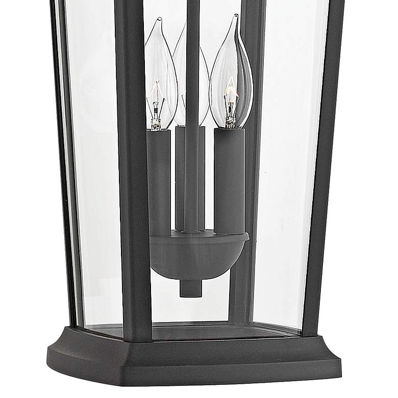"Hinkley Bromley 19 1/4""H Museum Black Outdoor Hanging Light more views"