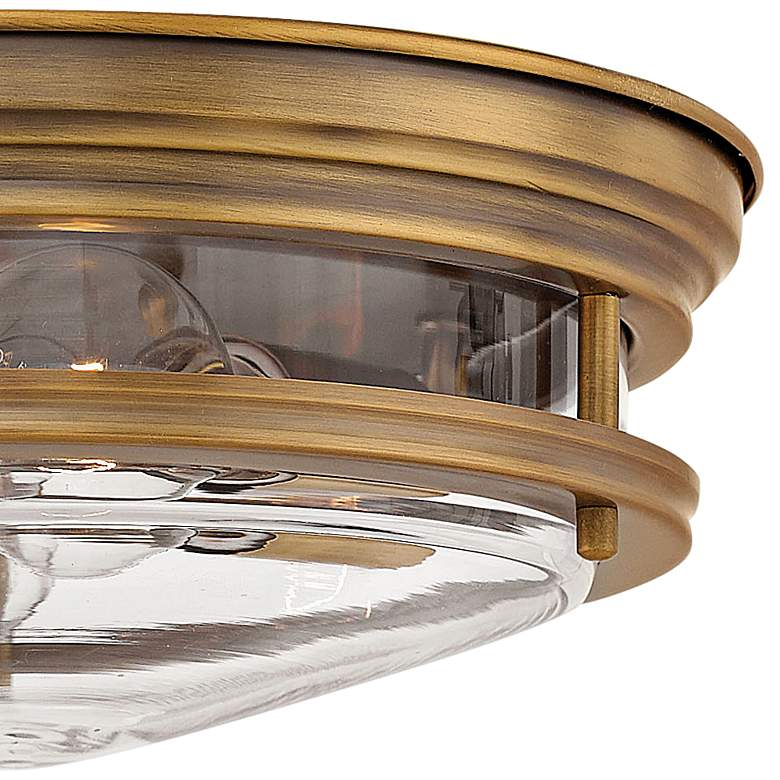 "Hinkley Hadley 12"" Wide Brushed Bronze 2-Light Ceiling Light more views"