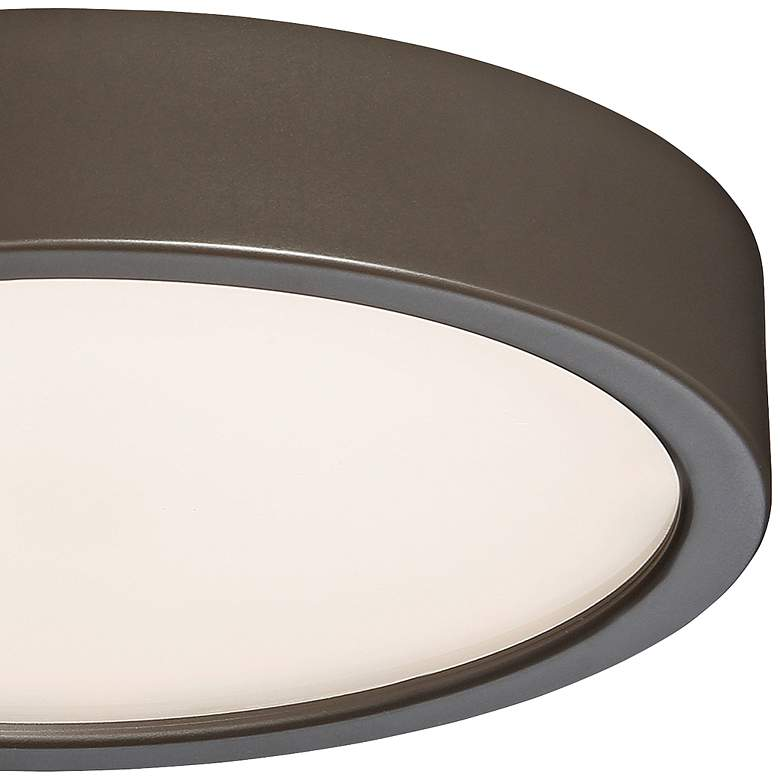 "George Kovacs Puzo 8"" Wide Copper Bronze LED Ceiling Light more views"