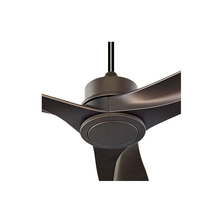 "60"" Quorum Kress Oiled Bronze Ceiling Fan more views"