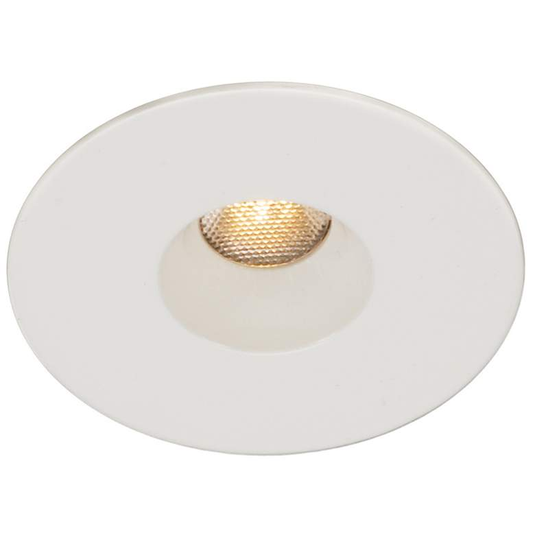 "WAC LEDme 1"" Round White Mini Complete Recessed Kit more views"