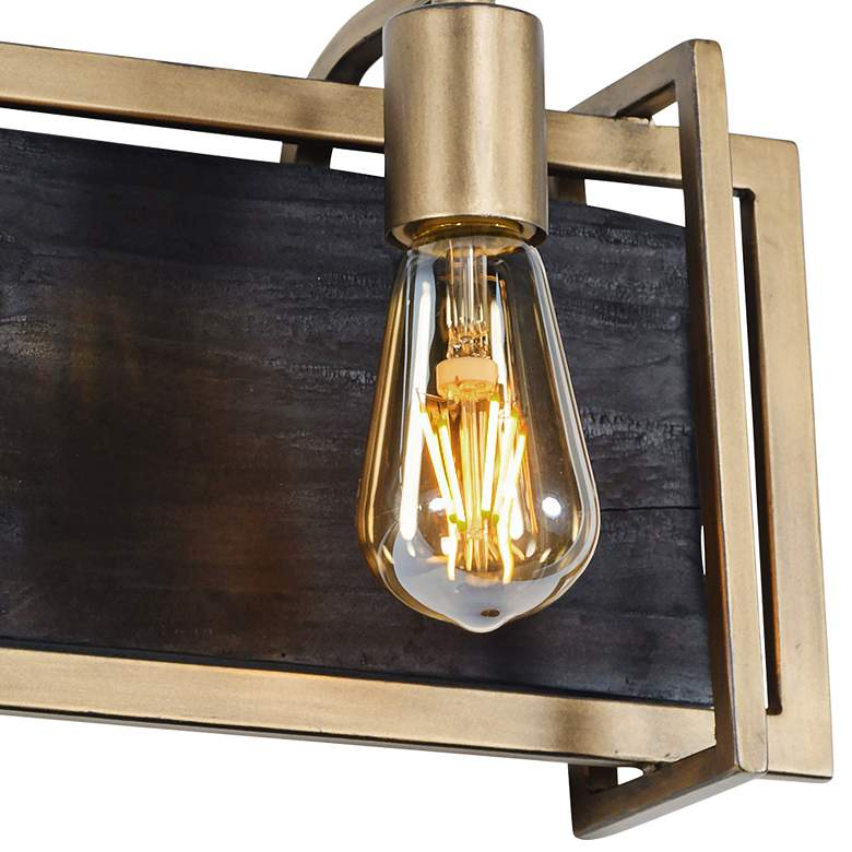 "Varaluz Madeira 7 3/4"" High Rustic Gold 2-Light Wall Sconce more views"