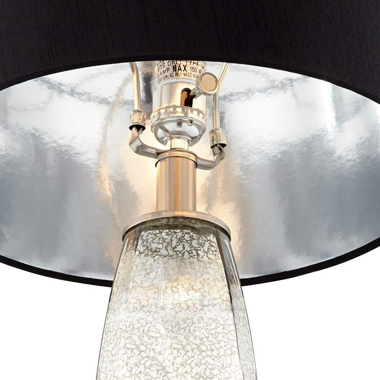 Landro Mercury Glass Table Lamp Set of 2 more views