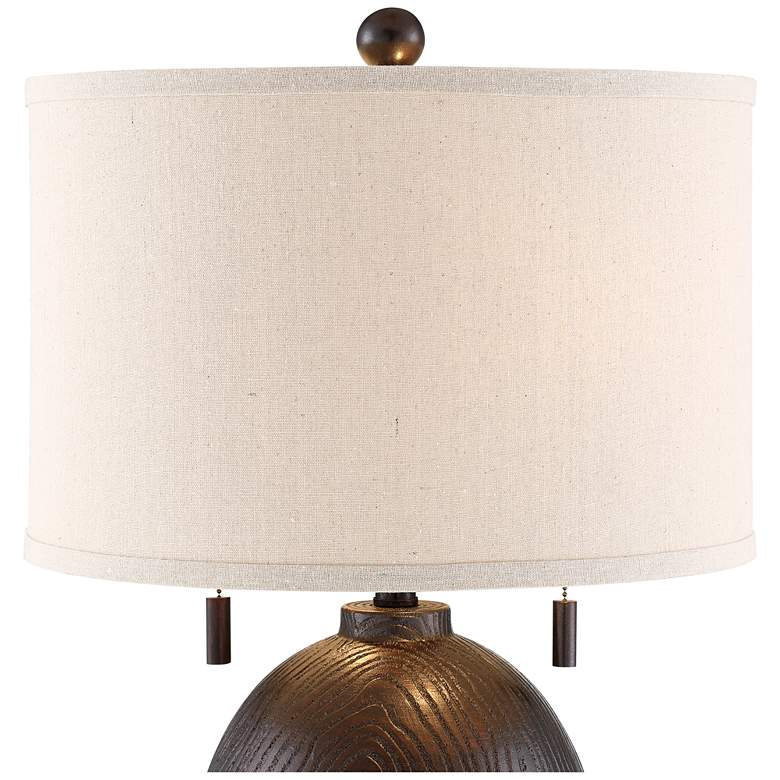 Franklin Iron Works Byron Pull Chain Table Lamp more views