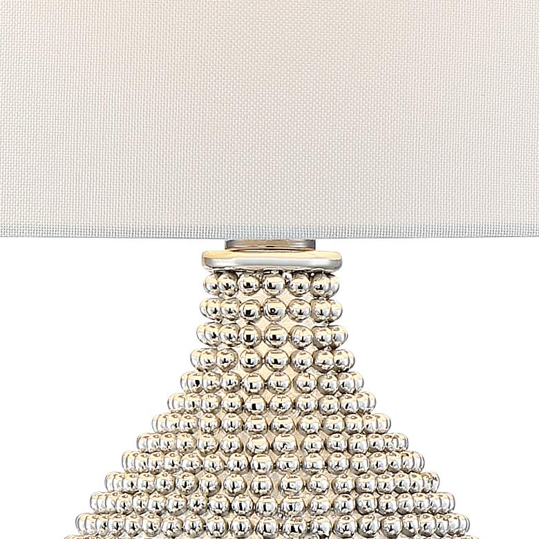 Lulu Chrome Double Gourd Table Lamp more views
