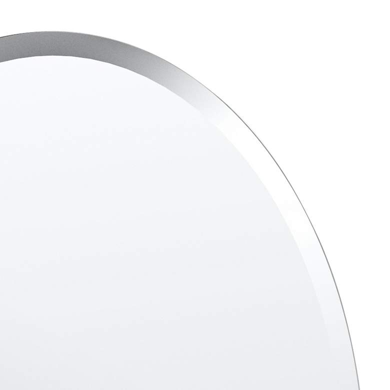 "Cameo Flush Mount 19 1/2"" x 26 1/2"" Frameless Mirror more views"
