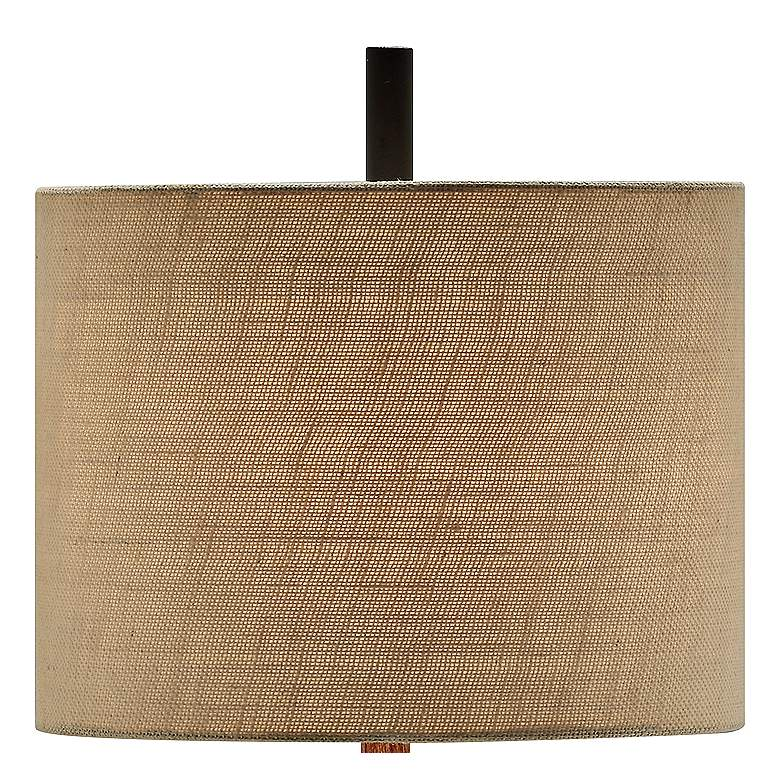 Crestview Collection Garson Wood and Metal Table Lamp more views