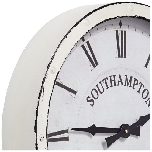 "Southampton Vintage 16"" Wide Battery Operated Wall Clock"