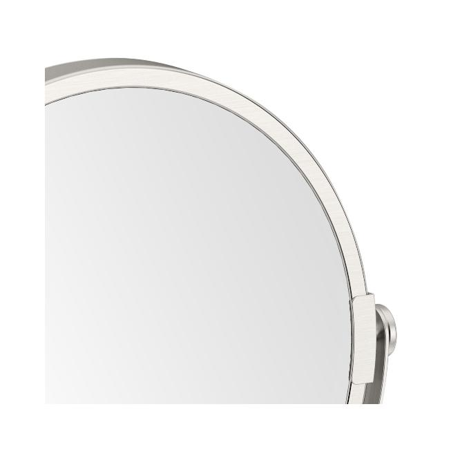 Gatco Latitude II Satin Nickel Table Makeup Mirror