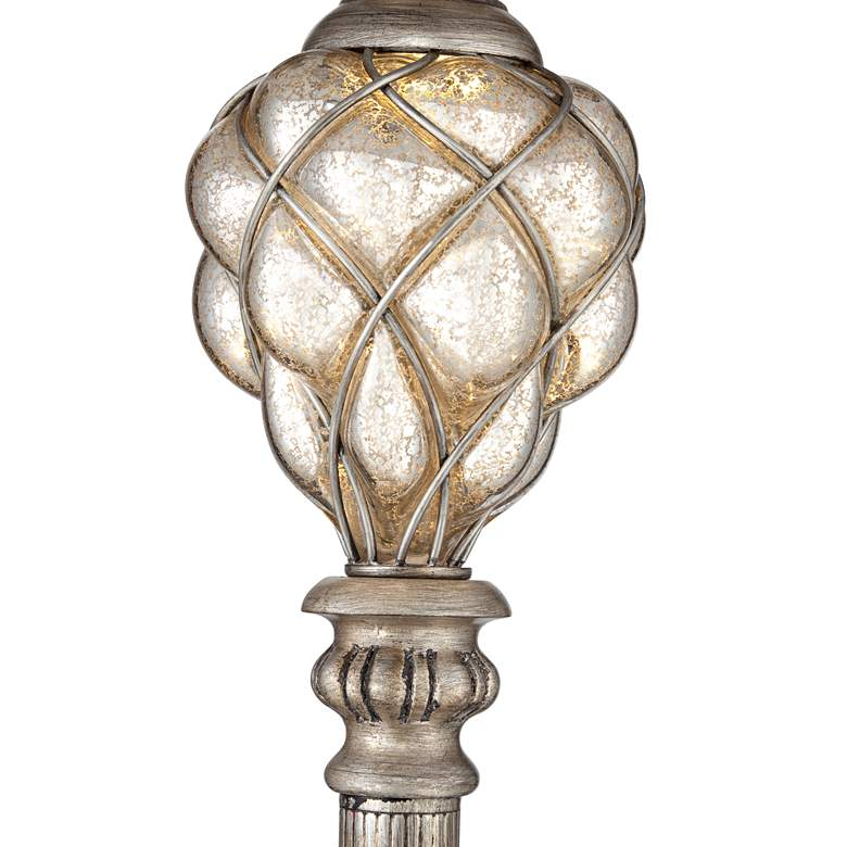 Olde 4-Light Floor Lamp with LED Night Light more views