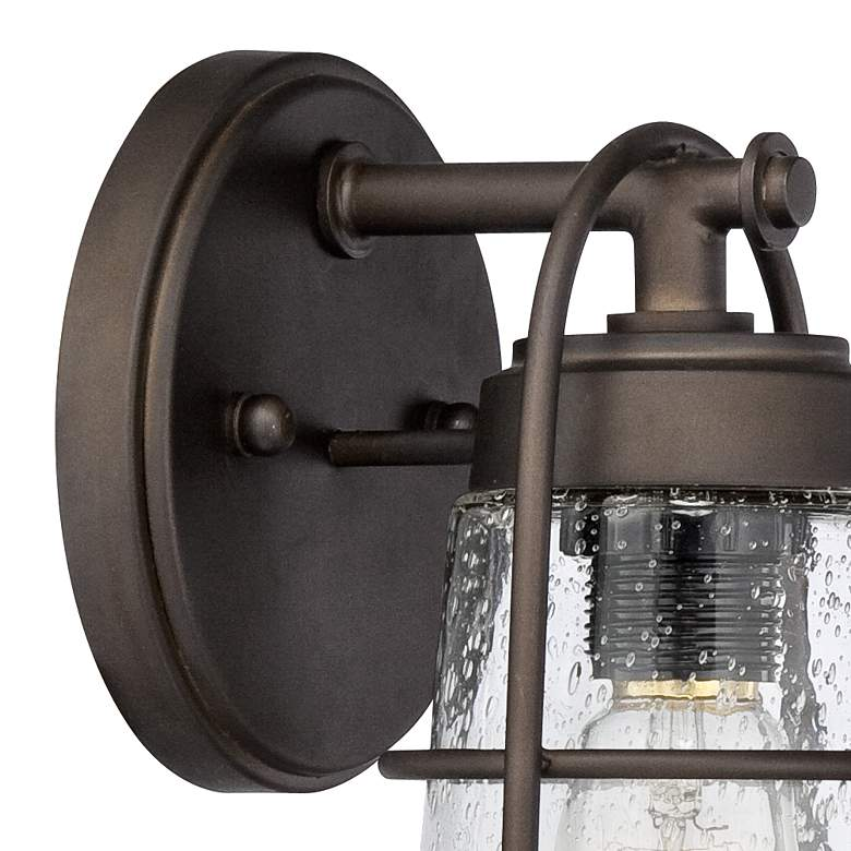 "Averill Park 10 1/4"" High Bronze Outdoor Wall Light more views"