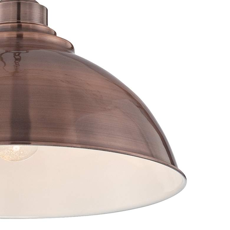 "Southton Copper Dome 13 1/4"" Wide Pendant Light more views"