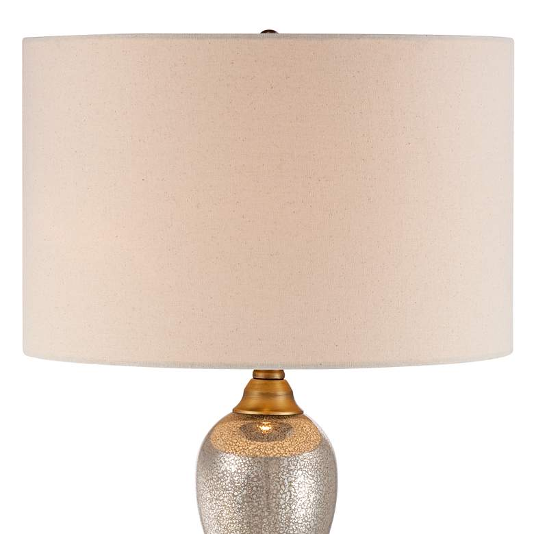 Gigi Mercury Glass Table Lamp by Possini Euro Design more views