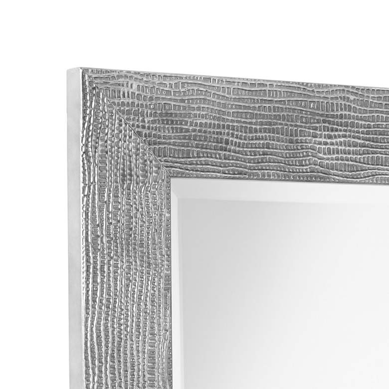 "Uttermost Tarek Silver 30"" x 42"" Decorative Wall Mirror more views"