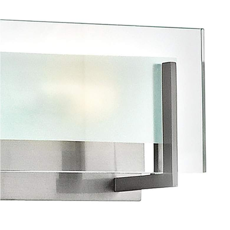 "Hinkley Latitude 37 1/2"" Wide Brushed Nickel Bath Light more views"