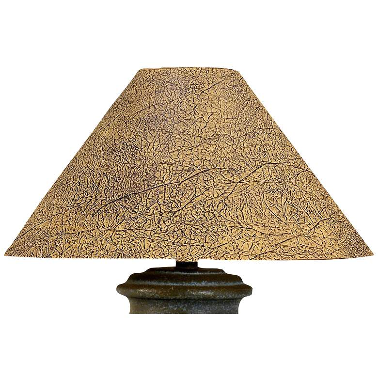 Handcrafted Southwest Terra Cotta Table Lamp more views