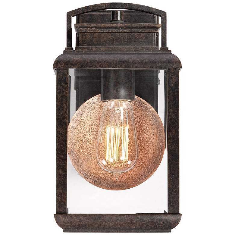 Quoizel Byron Imperial Bronze Small Outdoor Wall Lantern more views