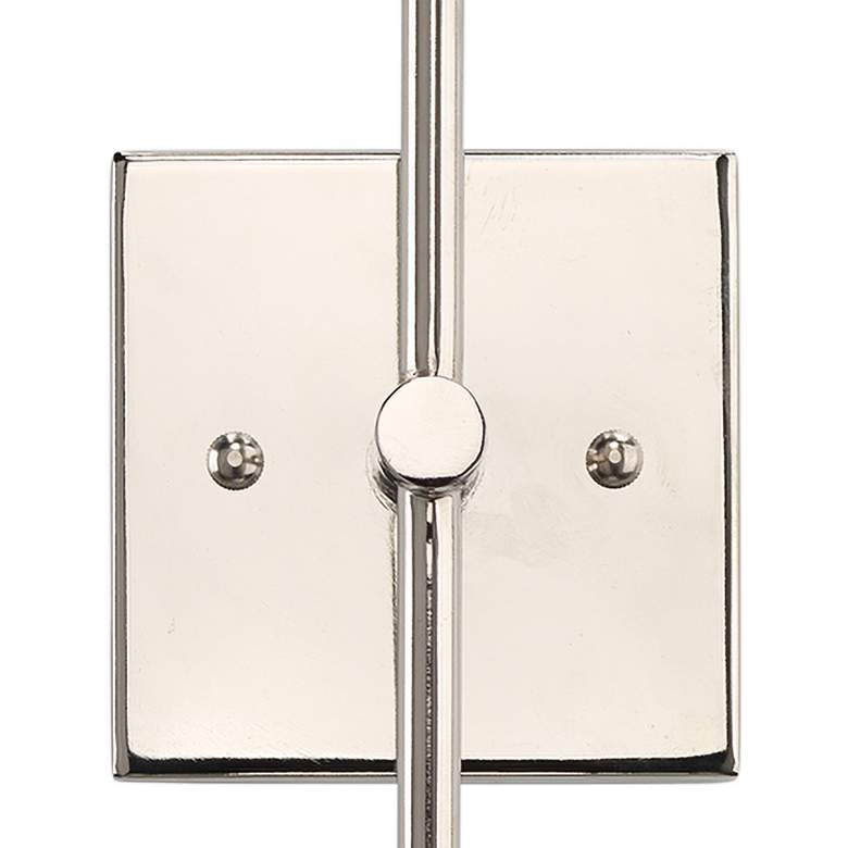 "Jamie Young Vapor 24 3/4"" High Opal and Nickel Double Wall Sconce more views"