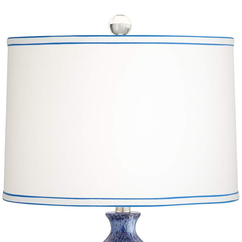 Halsted Blue Ceramic Table Lamp more views