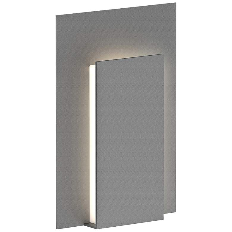 "Reveal 11 3/4"" High Textured Gray LED Outdoor Wall Light more views"
