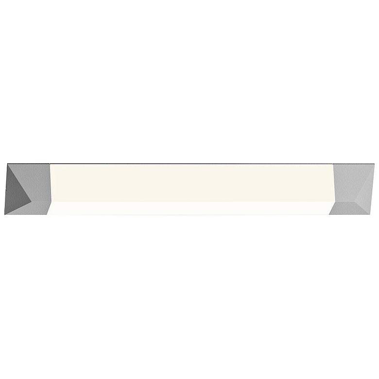 "Sonneman Triform 36""H Textured White LED Outdoor Wall Light more views"