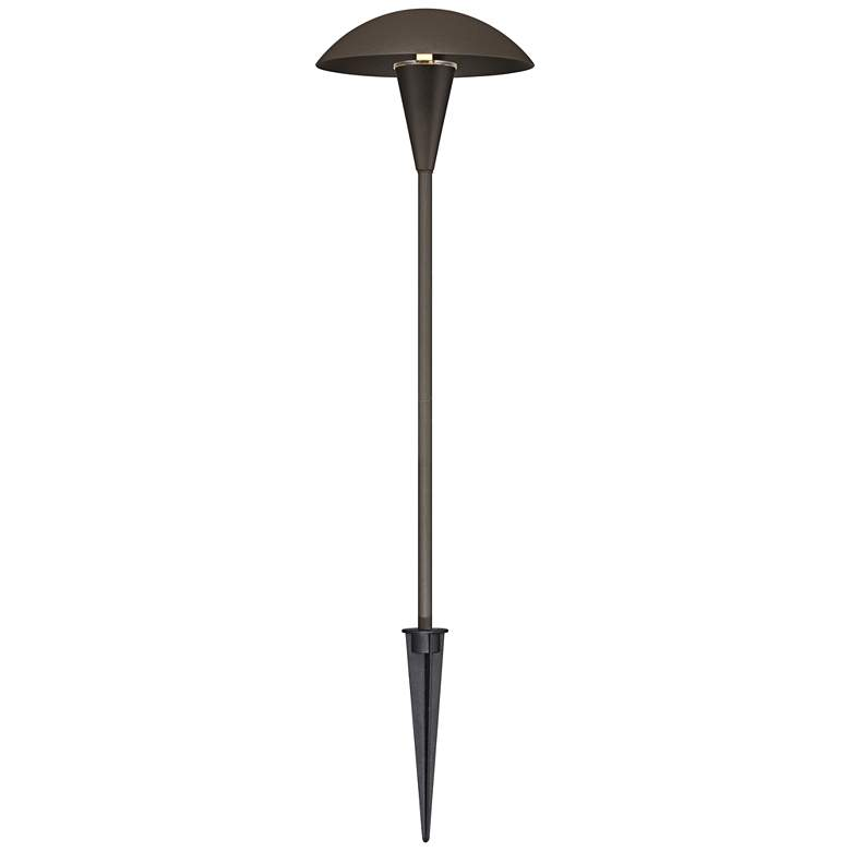 4 Pack Large Mushroom Bronze LED Landscape Path Light more views