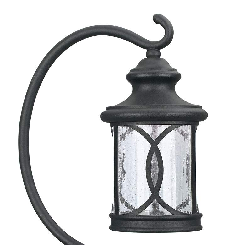 "Set of 2 Capistrano 23""H  LED Black Shepherd's Path Light more views"
