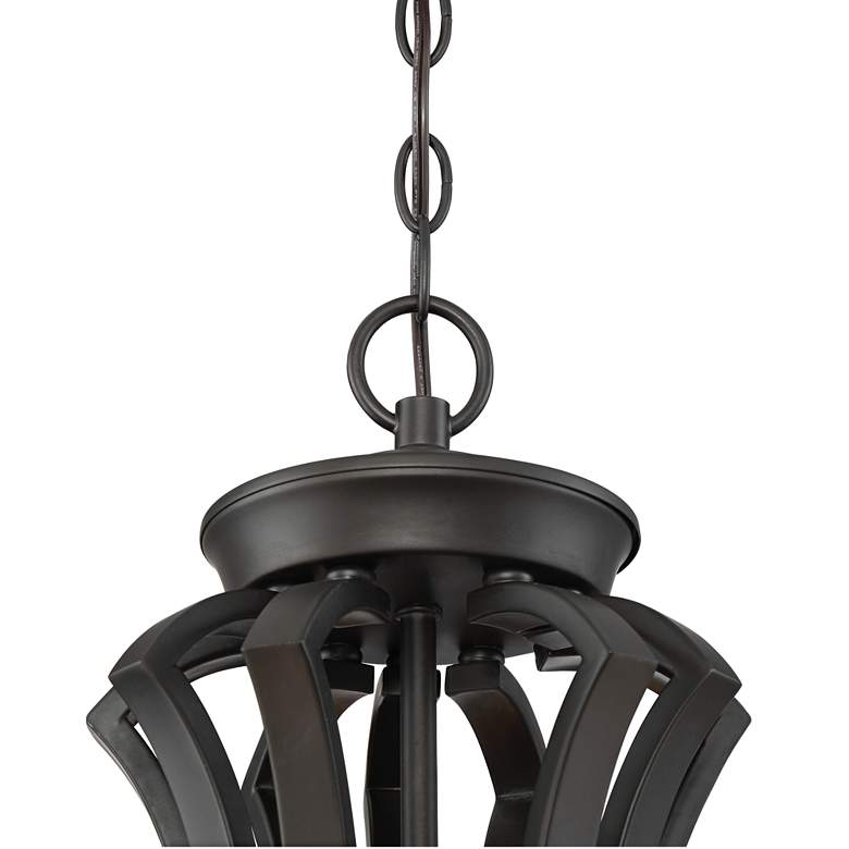 "Milbury 29 1/2"" Wide Bronze 9-Light Chandelier more views"