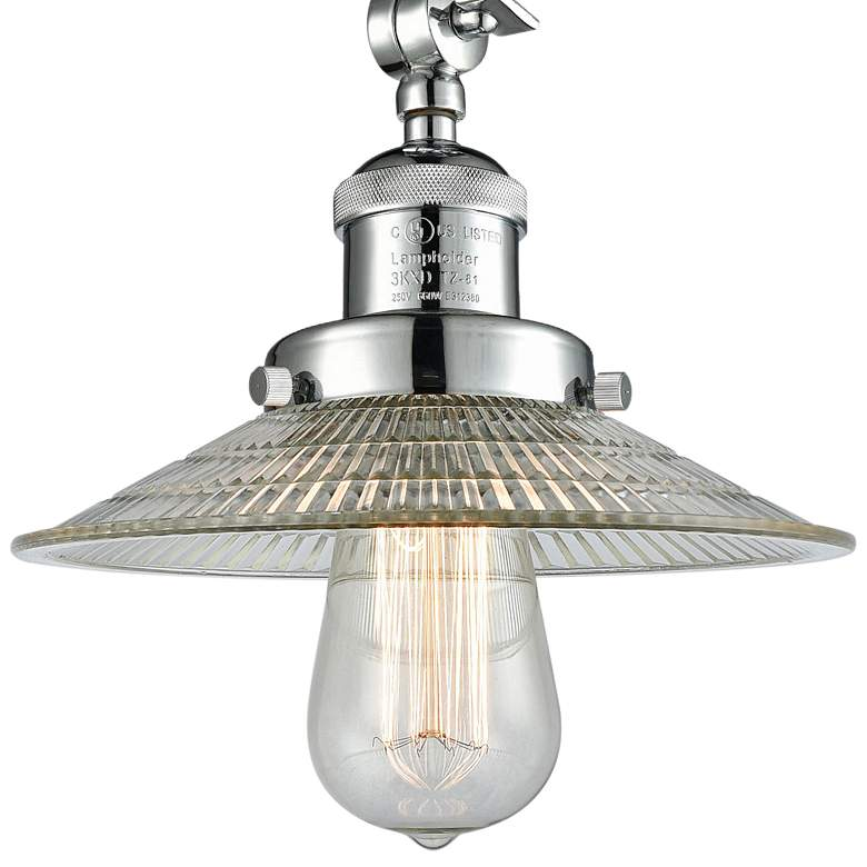 "Halophane 8 1/2""W Polished Chrome Adjustable Ceiling Light more views"