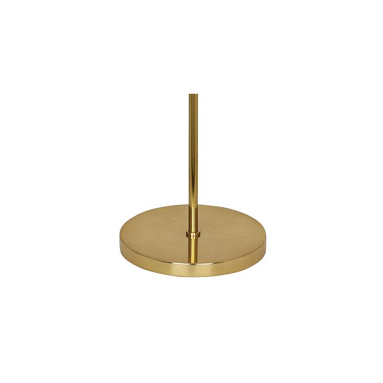 Robert Abbey Andromeda Modern Brass Floor Lamp more views