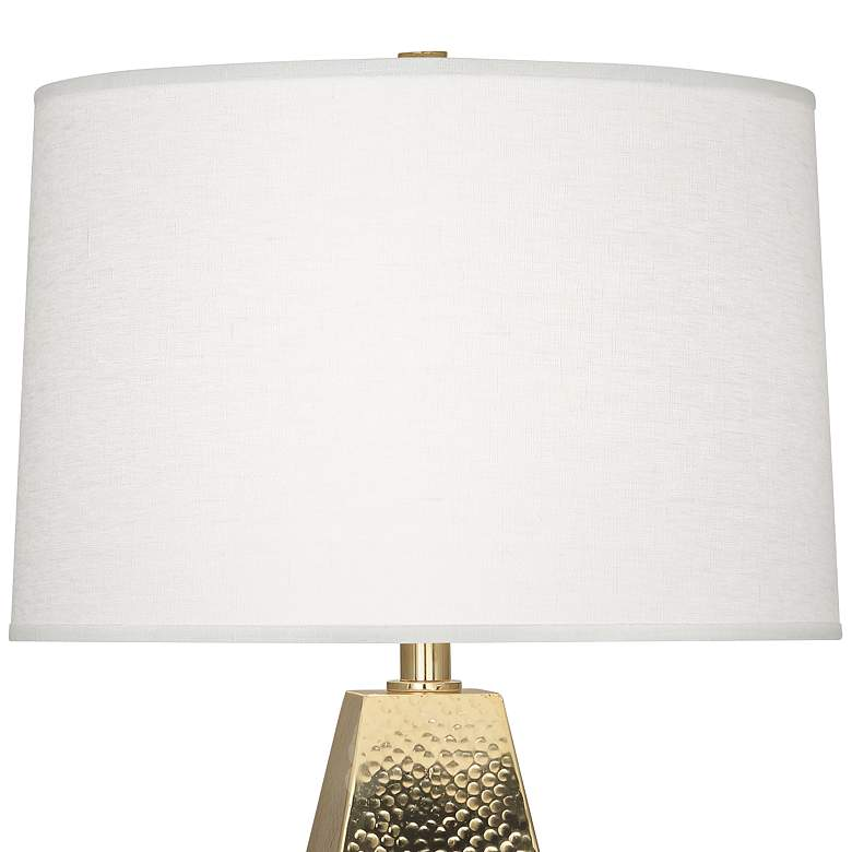Robert Abbey Dal Modern Brass Tapered Table Lamp more views