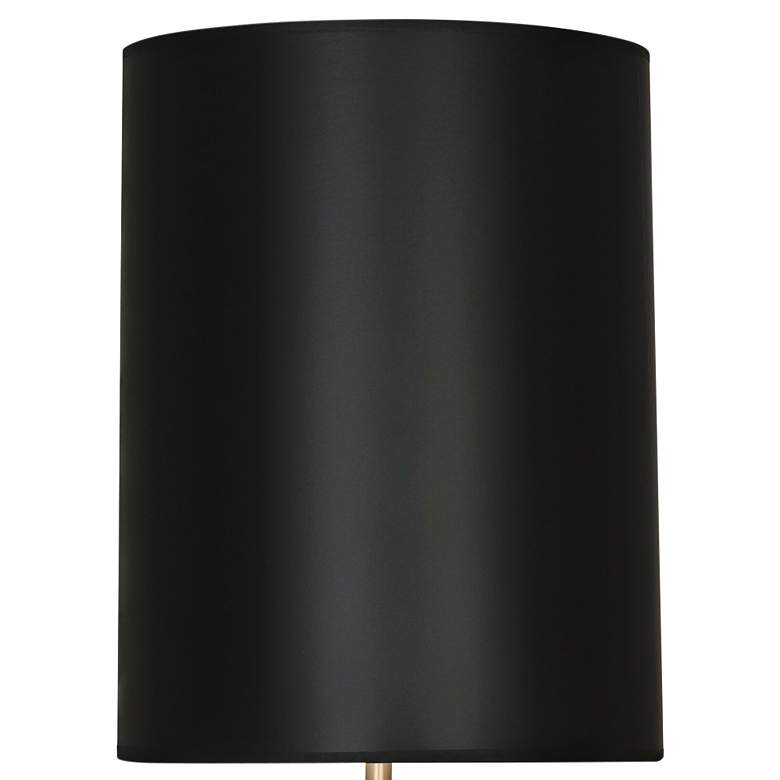 Canaan White and Black Tapered Table Lamp with Black Shade more views