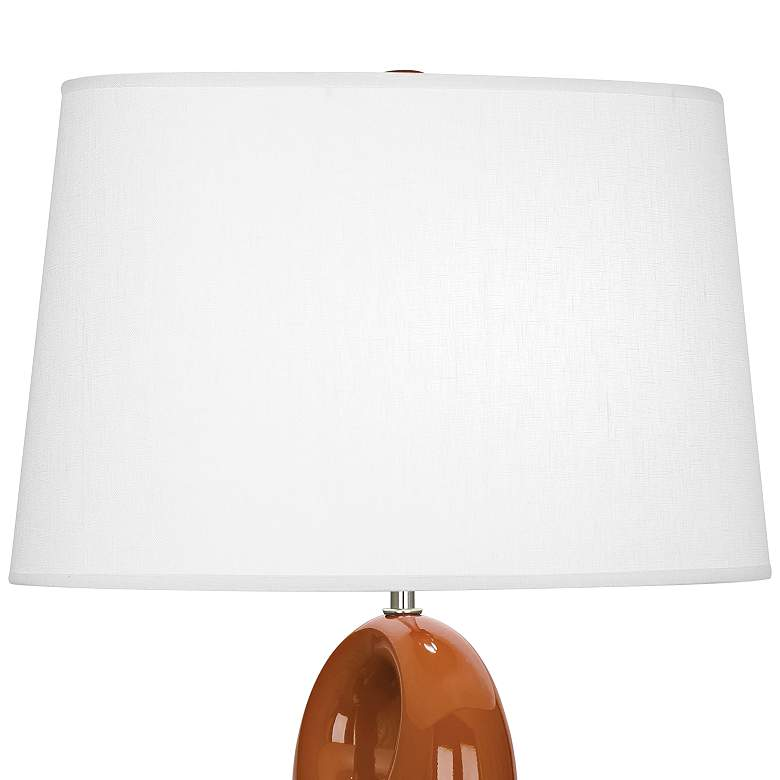 Robert Abbey Fusion Cinnamon Ceramic Table Lamp more views