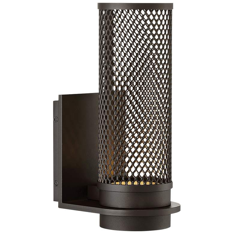 "dweLED Mesh 12"" High Bronze LED Outdoor Wall Light more views"