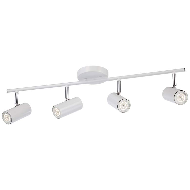 Pro Track Galena 4-Light White LED Track Head more views