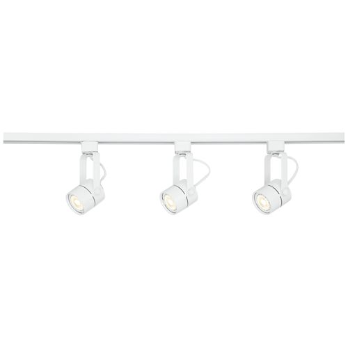 Pro Track Layna Linear 3-Light White LED Bullet Track Kit