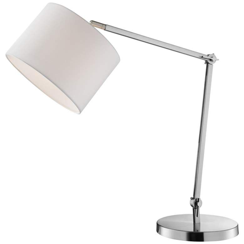 Lite Source Lark Brushed Nickel Desk Lamp more views