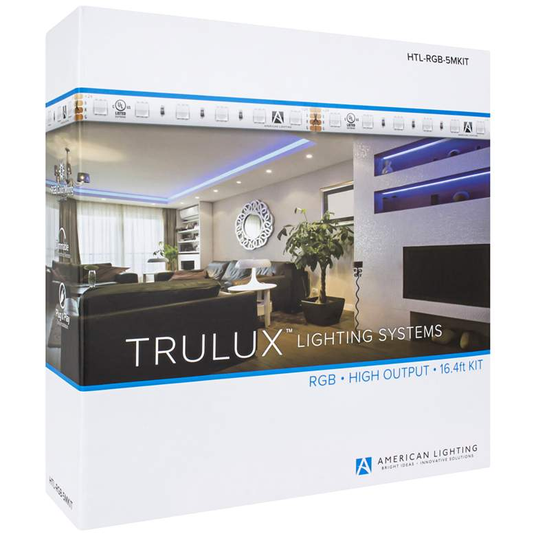 Trulux 16.4-Foot RGB LED Tape Light Kit more views