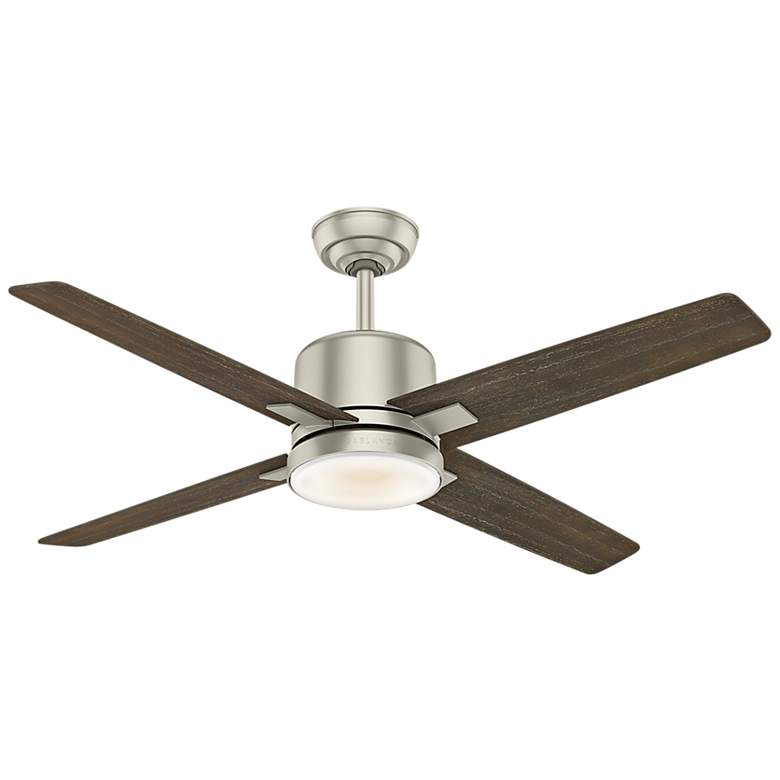 "52"" Casablanca Axial Matte Nickel LED Ceiling Fan more views"