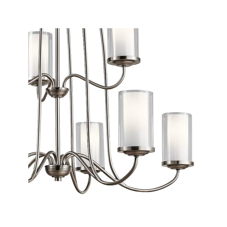 "Kichler Lorin 32"" Wide Classic Pewter 9-Light Chandelier more views"