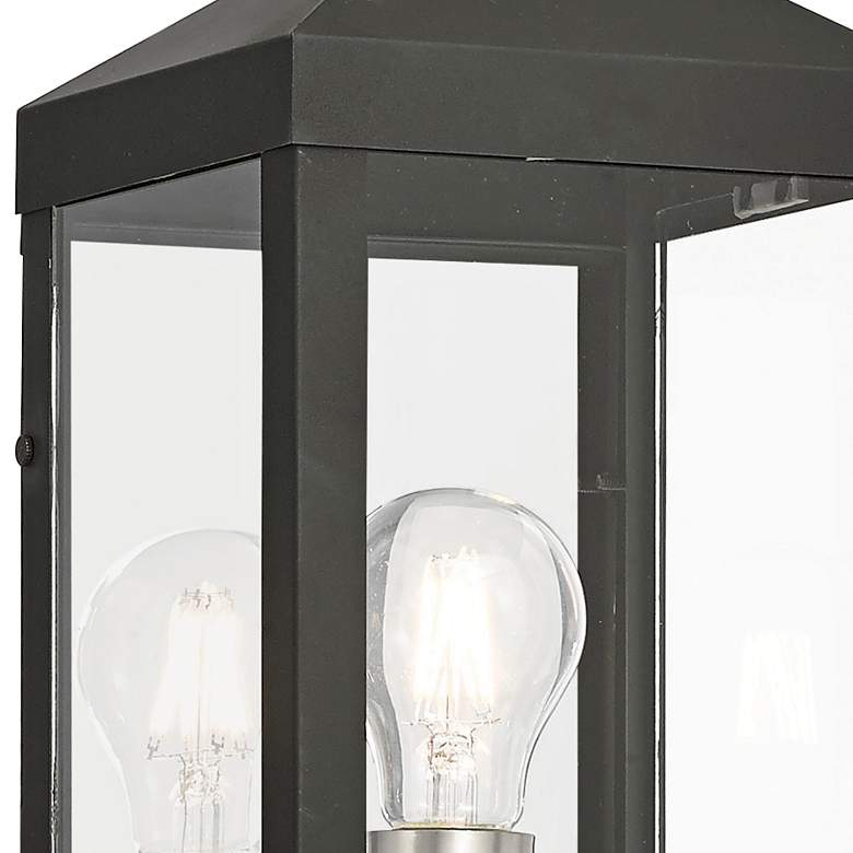 "Nyack 24"" High Black Outdoor Wall Light more views"