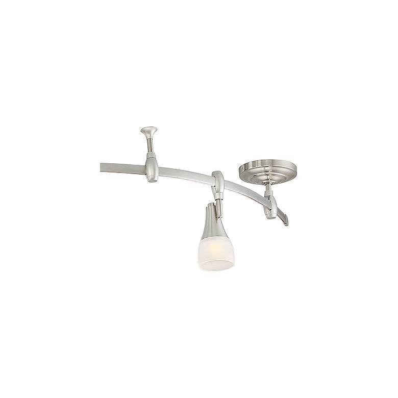 Quoizel Crofton 5-Light Brushed Nickel LED Track Light more views