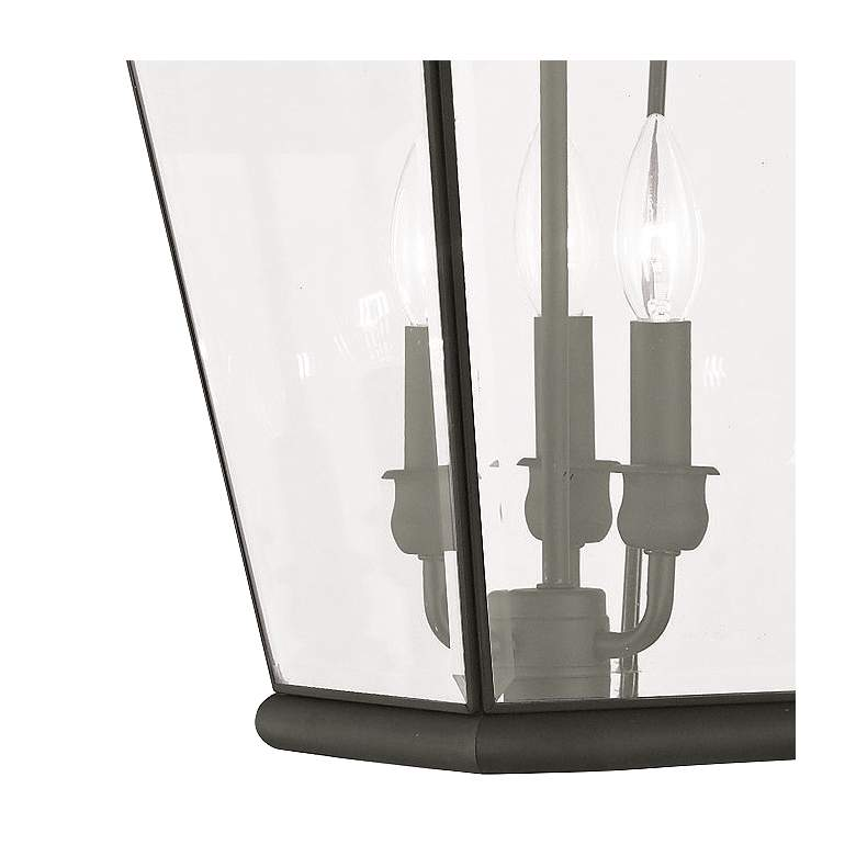 "Exeter 25"" High Black Outdoor Hanging Light more views"