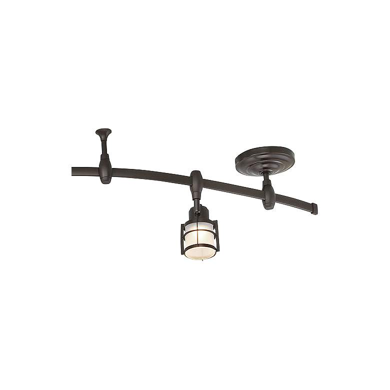 Quoizel Winside 5 Light Western Bronze Led Track