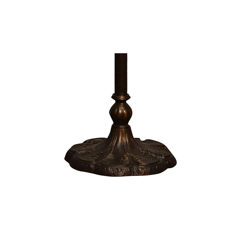 Townsville Antique Bronze Tiffany-Style Floor Lamp more views