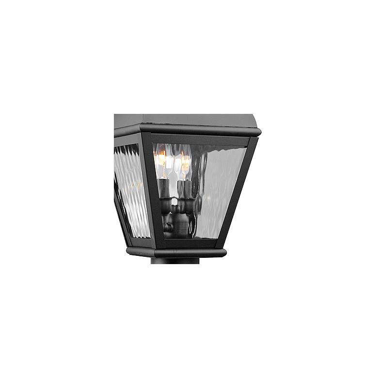 "Exeter 20 1/2"" High Black Outdoor Post Light more views"