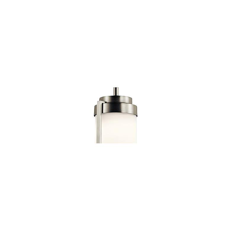 "Kichler Akai 4 1/2"" Wide Brushed Nickel LED Mini Pendant more views"