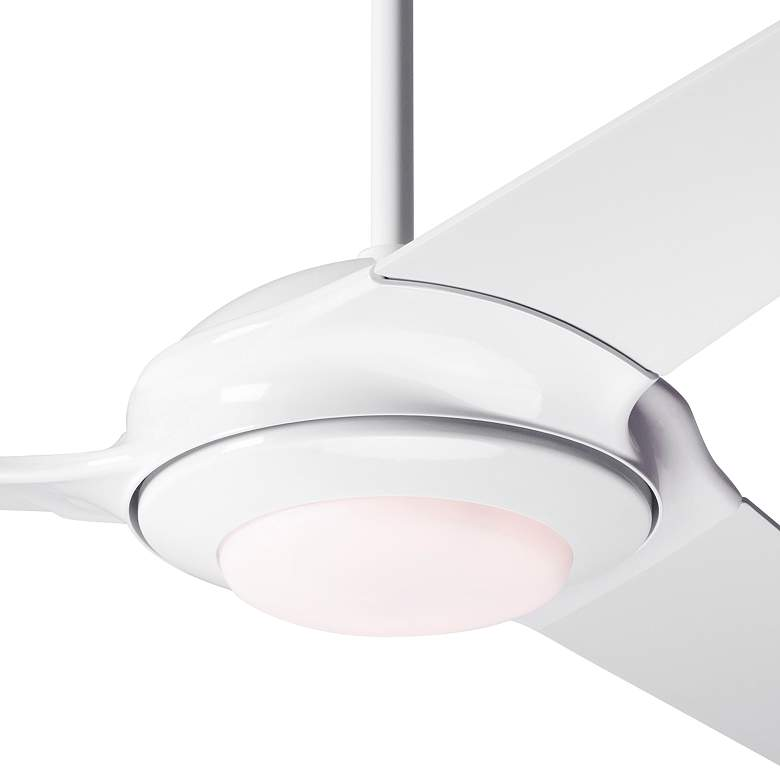 "52"" Modern Fan Flow White LED Ceiling Fan more views"